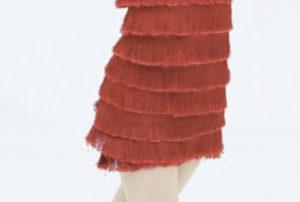 赤い衣装の記事を拡大した写真