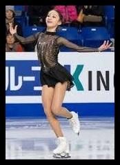 スケートをするキムイエリム