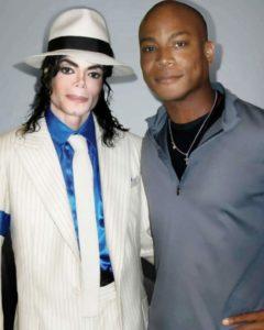 マイケルジャクソンとトラビスペイン