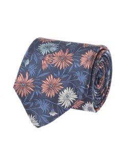 松本人志が着用したとされる花柄のネクタイ