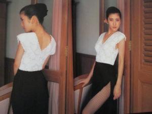 1988年頃の山咲千里