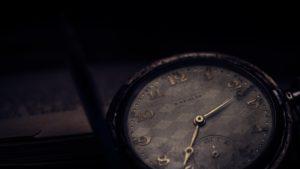 錆びた時計