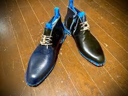 花田優一が製作したオブジェ用の靴