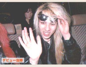 昔のYOSHIKIのすっぴん写真
