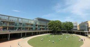青山学院初等部の校舎