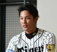 阪神のユニフォームを着た藤浪晋太郎