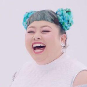 笑顔の渡辺直美