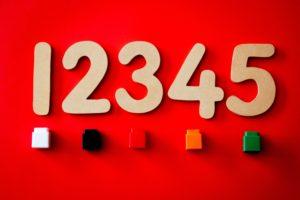 12345の数字