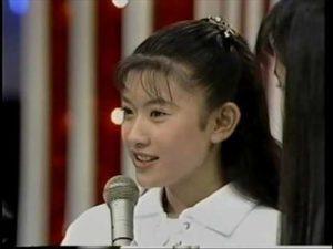 デビュー当時の篠原涼子