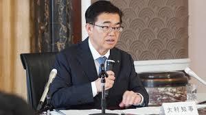 リコール運動を行われる大村知事