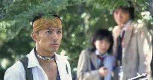 バトルロワイアルに出演したときの山本太郎