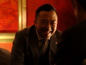 笑顔の伊佐山部長