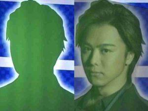 シルエットとTAKAHIROの2ショット