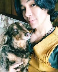 武田真治と実家の愛犬