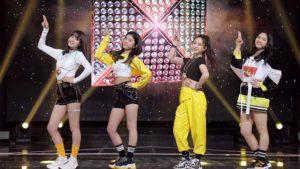 韓国合宿の時の虹プロメンバー