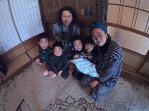 徳島大家族・廣川家の家族写真