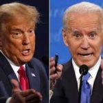 大統領選に出馬しているトランプとバイデン