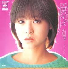 ショートカットの松田聖子