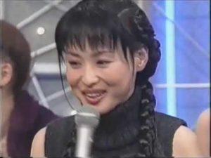 三つ編みヘアの松田聖子
