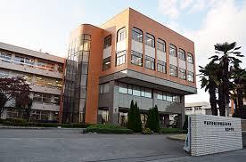 宇都宮短期大学附属高校の校舎