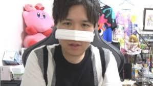 マスクで鼻を隠すコレコレ
