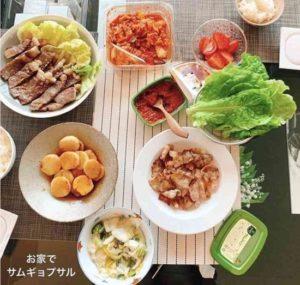 板野友美の手作り料理