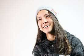 笑顔の高梨沙羅