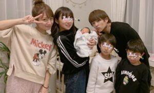 杉浦太陽夫妻と子供たち