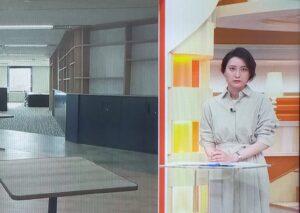 news23に出演する小川彩佳アナ