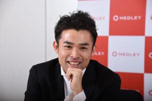 笑顔の豊田剛一郎